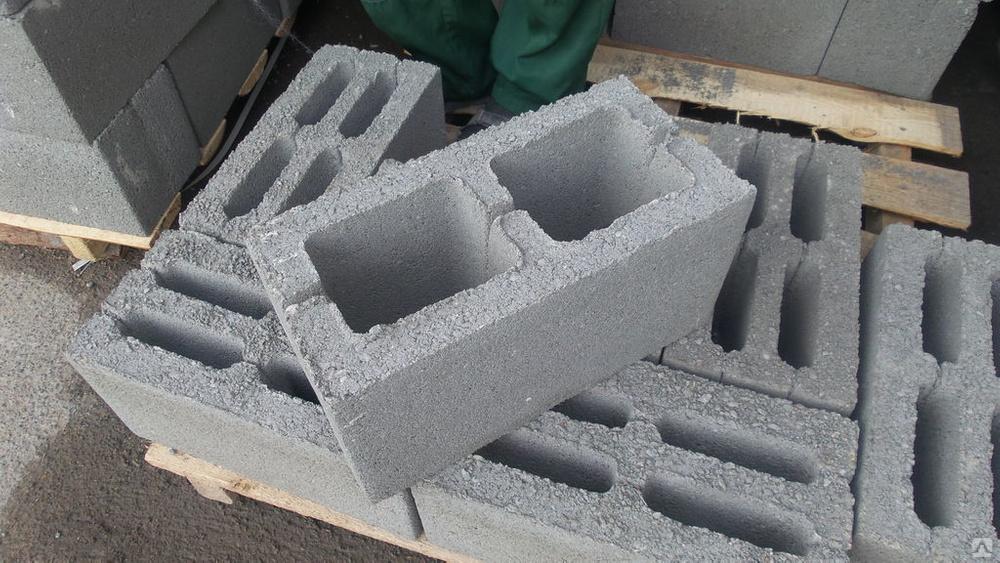 Характеристики бетонных блоков