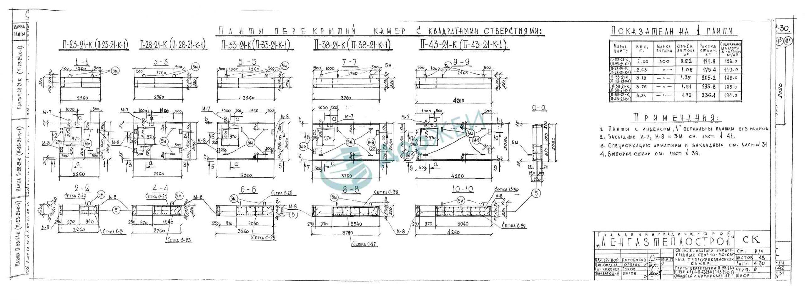 П 38-21-К-1